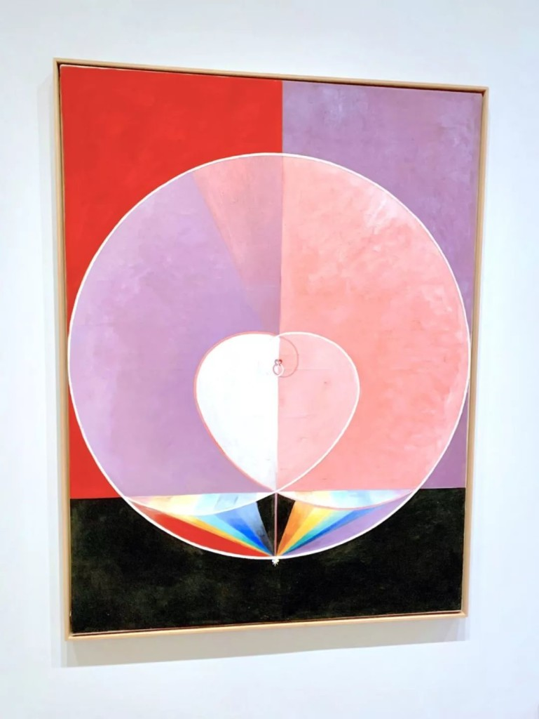 Hilma af Klint,《The Dove, No. 2, Series UW, Group IX》(1915)。图片:Ben Davis