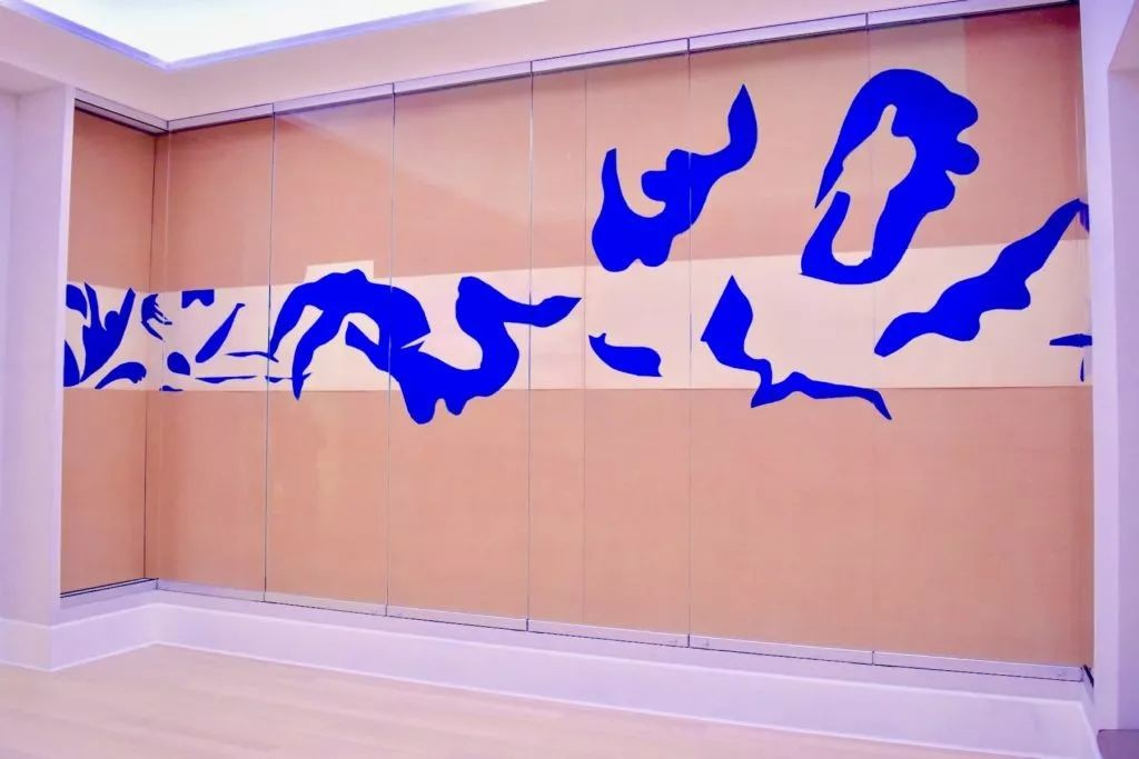 亨利·马蒂斯(Henri Matisse),《游泳池》(The Swimming Pool,1952)。图片:Ben Davis